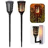 Ankway LED Gartenleuchten Solar (4Led pro Licht, 2 Lichtsmodi), Einstellbar...