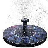 BAONUOR Solar Springbrunnen, Solar Teichpumpe mit 6 Effekte Solar...