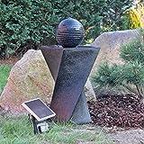 CLGarden Solar Springbrunnen Set NSP4 mit Akku und LED Beleuchtung...