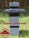 Wehmann Solarbrunnen Asia Solarspringbrunnen Zengarten Brunnen Komplettset...