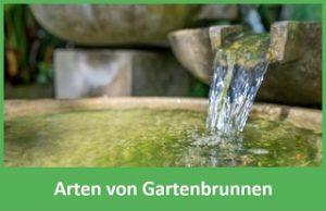 Arten von Gartenbrunnen